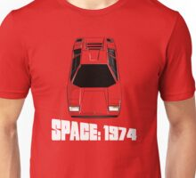 Lamborghini Countach Space 1999 Unisex T-Shirt