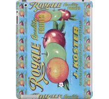 Royale Quality Fruit Label iPad Case/Skin