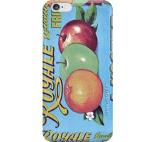 Royale Quality Fruit Label iPhone Case/Skin