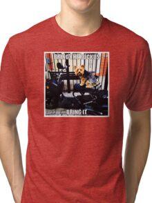 Bring The Ruckus BOY! Tri-blend T-Shirt