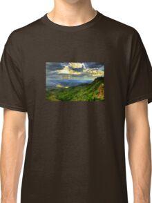Monsoon Rainstorm At Sunset Classic T-Shirt