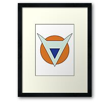 The Ginyu Special Corps Logo Framed Print