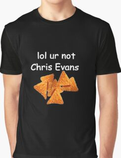 """lol ur not chris evans"" Graphic T-Shirt"