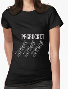 PEGBUCKET Pegs Womens Fitted T-Shirt