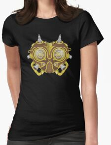 Majoras Mask Steampunk Womens Fitted T-Shirt