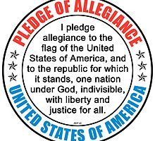 Pledge of Allegiance by morningdance