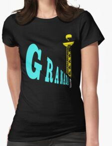 Granada TV, Manchester 3 Womens Fitted T-Shirt