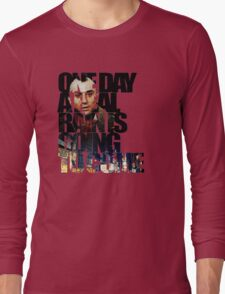 Taxi Driver - Quote Long Sleeve T-Shirt