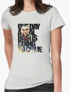 Taxi Driver - Quote Womens Fitted T-Shirt