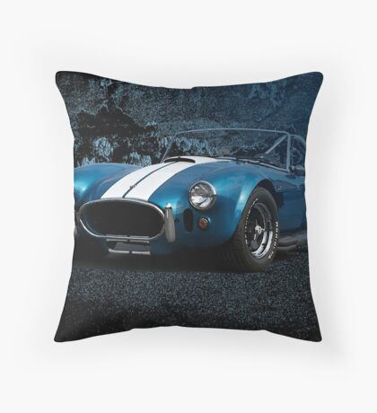 Cobra - Striking Distance Throw Pillow
