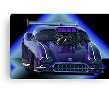 Pro Mod Corvette Canvas Print