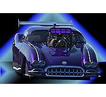 Pro Mod Corvette Photographic Print