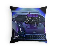 Pro Mod Corvette Throw Pillow