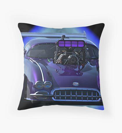 Pro Mod Corvette Throw Pillow