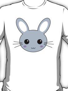Cute Blue Kawaii Bunny T-Shirt