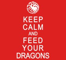 Keep calm and feed your dragons by karlangas