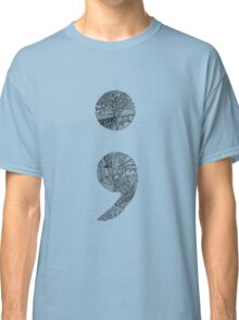 Patterned Semicolon #2 Classic T-Shirt