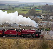 Galatea Races North Through Settle by Jan Fialkowski