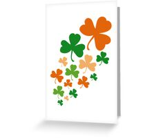 Lucky Clovers Nr. 05 Greeting Card
