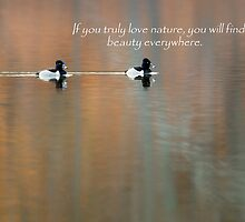 If You Truly Love Nature by Bill Wakeley
