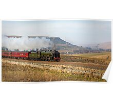The Scots Guardsman Racing South up Ais Gill Poster