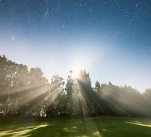 Moonrays by Mikko Lagerstedt
