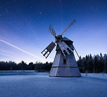 Winter Mill by Mikko Lagerstedt