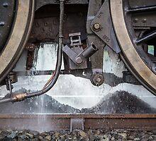 Black 5 45231 Fellsman Dumps Ash at Upperby by Jan Fialkowski