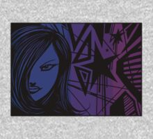 Star City Girl Purple One Piece - Long Sleeve