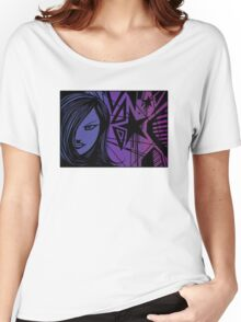 Star City Girl Purple Women's Relaxed Fit T-Shirt