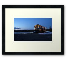 North Pole Express Framed Print