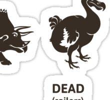 Dead Dead Maybe Sticker