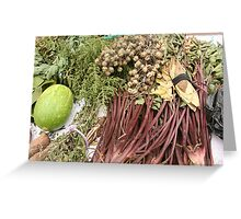 Produce at the Market Greeting Card