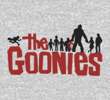 The Goonies Film Logo with characters by 1to7