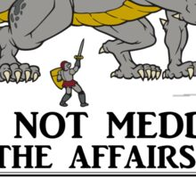 Dragon Meddlers Sticker