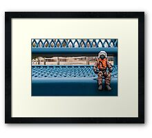 Walking Is Tough Framed Print