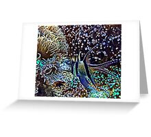 Reef and Fish Greeting Card