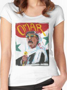 Omar Souleyman Women's Fitted Scoop T-Shirt