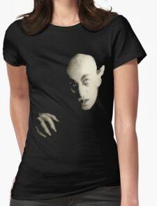 Black Nosferatu Womens Fitted T-Shirt