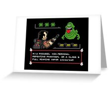 Ghostbusters Pokemon Greeting Card