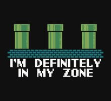 """I'm definitely in my zone"" - warp zone gaming Super Mario bros by 1to7"
