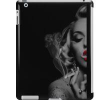 smoking woman iPad Case/Skin