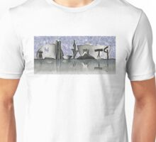 Brasilia city skyline Unisex T-Shirt