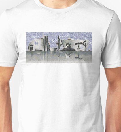 Brasilia city skyline Unisex T-Shirt