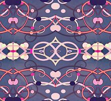 Abstract Decorative Pattern by DFLC Prints