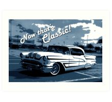 That's Classic - Classic Car Digital Art Art Print