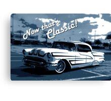 That's Classic - Classic Car Digital Art Canvas Print