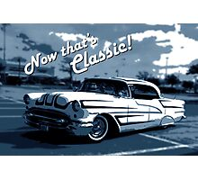 That's Classic - Classic Car Digital Art Photographic Print