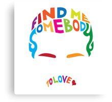 Freddie Mercury - Somebody to love Canvas Print
