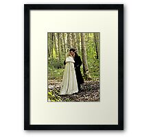 Safe in the Arms of Love Framed Print